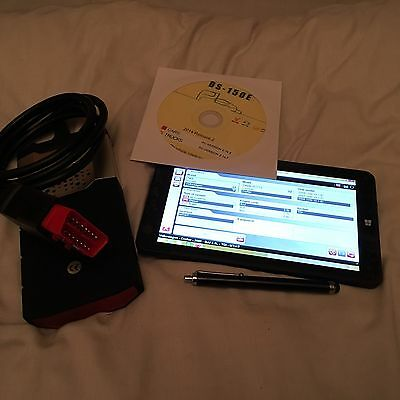 PROFFESIONAL Diagnostic Laptop-TABLET Bluetooth Car/Van/Truck Airbag ABS