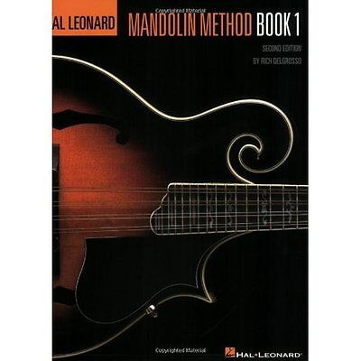 The Hal Leonard Mandolin Method Book: Only for Beginners Music and Tablature Ric