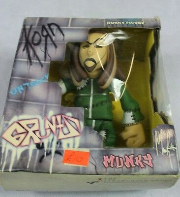 KoRn Munky Gruntz Grunts Figurines [NEW] [UNOPENED] 2002 Rock James Shaffer
