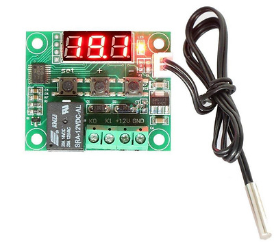 12V Digital Thermostat Sensor Temperature Control Relay Switch W1209 -50-110°C