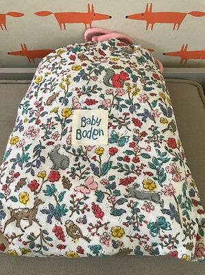 Brand New Mini Baby Boden Girls Cosy Pointelle Pack In Bunny 2-3Y RRP£37 Bargain