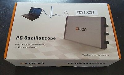 UK 2017 OWON VDS1022I USB Isolation 25MHz PC Digital Storage Oscilloscope