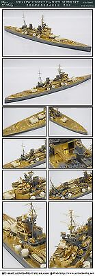 Artist hobby 670002 1/700 HMS KING GEORGE V IN WWII SUPER SET detail up