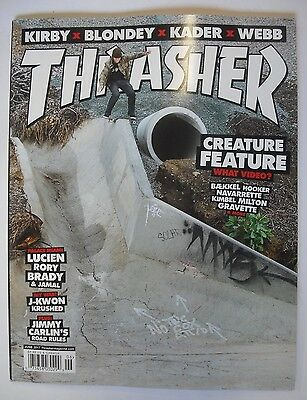 THRASHER Magazine Issue 443. June 2017. Skateboarding