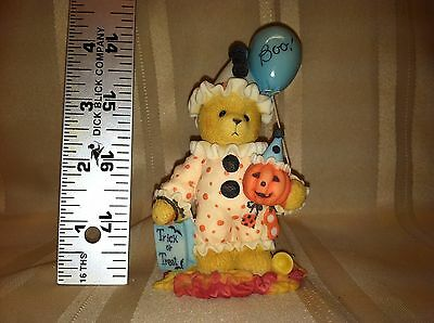 Cherished Teddies Figurine Natalie You Make Me Smile From Ear to Ear 534110 1999