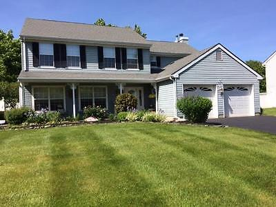 MANALAPAN NJ 5 BR 2.5 BATH COLONIAL HOME NORTHFIELD ESTATES real estate RTE 9 S