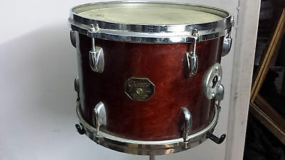 "Vintage Early 1981 Gretsch 13""x9"" Tom Wallnut Finish"