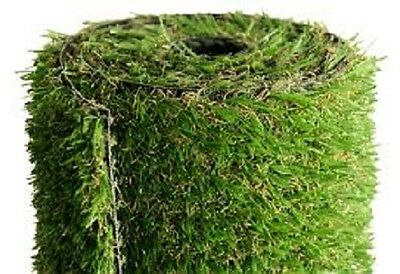 37mm Quality Artificial Grass Remnant 2.30m x 4.00m Very Realistic TriColour