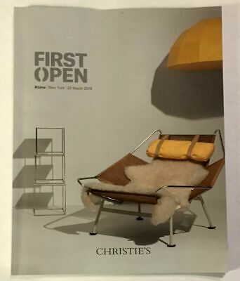 Christie's First Open:  Home; New York, 22 March 2016