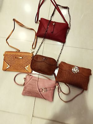 Wholesale Joblot Ladies Shoulder/body Bags Mix Styles Colors 15pcs