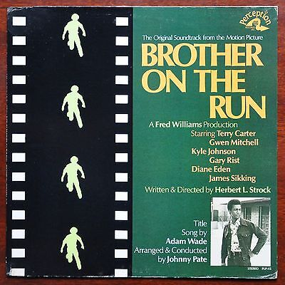 RARE ORIGINAL SOUNDTRACK  Johnny Pate	Brother On The Run 	USA  1973