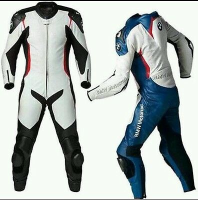 Bmw W&b Motorbike/motorcycle Complete Leather  Suit-Ce Approved Full Protection