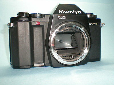 Vintage Mamiya ZM Quartz Body only for parts or repair