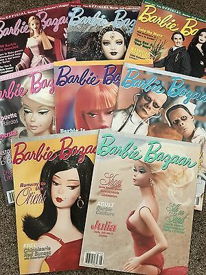 8 Barbie Bazaar Magazines