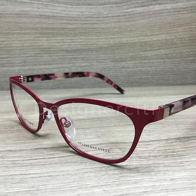 6116ebfd3ccf7 Marc Jacobs 77 Eyeglasses Red Pink Havana UC6 Authentic 52mm