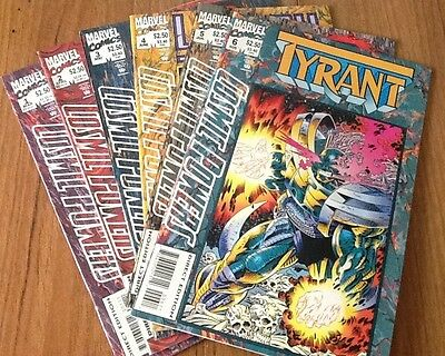 Comic powers Thanos 1,2,3,4,5,6 full set