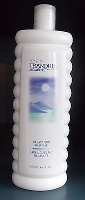 LOT OF 5  TRANQUIL MOMENTS RELAXATION FOAM BATH 700ml EACH