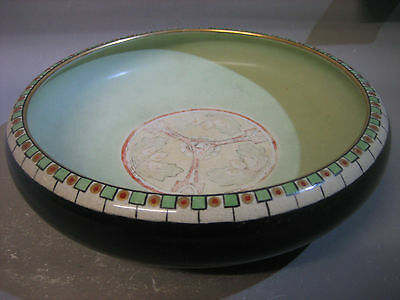 1930s hand painted bowl / tableware