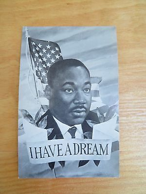 Vintage Martin Luther King MLK Post Card Collectible (AAA Novelty Co Sum Ho Bun)