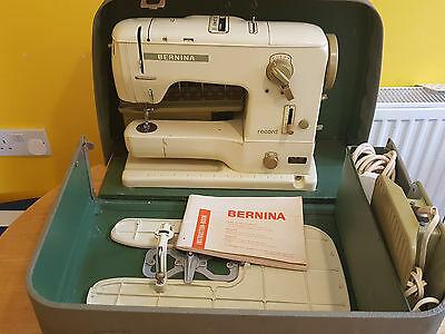 Bernina 730 Sewing Machine Excellent Condition Used