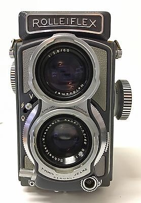 "Rolleiflex Vintage 4x4 Camera  "" Baby Rollei "" or "" Baby Gray ""  4x4 TLR Camera"