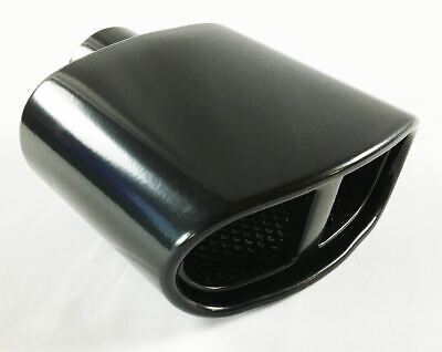 """Exhaust Tip 2.25/"""" Inlet 4.75/"""" Outlet 13.75/"""" Long High Temperature Black Dual Che"""