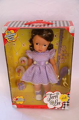 Terri Lee Doll Birthday Party Fun BNIB Hard To Find Collectible Girl Doll