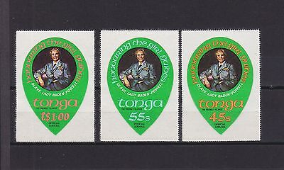 T17729 Tonga Dienst 126-128 postfr./mnh Pfadfinder scouts