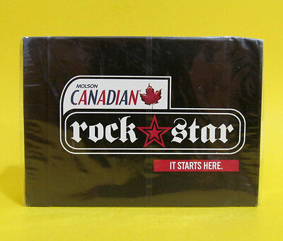 Molson Canadian Deck of Playing Cards  ROCK STAR SEALED