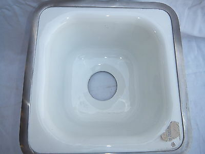 Vintage Standard Cast Iron Sink small 12 x 12