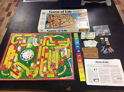Vintage Game of Life Board Game By Milton Bradley 1977 COMPLETE