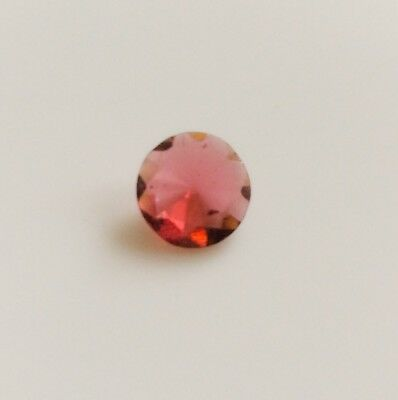 1 Pc Round Cut Shape Natural Garnet 7Mm Loose Gemstone