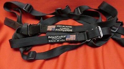 NEW Kley-Zion 2-Point Quick Adjust Tactical Sling BLACK MADE IN USA Free shippin