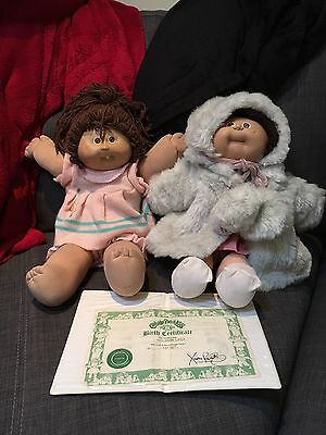 2x 1985 CABBAGE PATCH KIDS