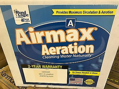 Airmax Aeration Eco Systems 2011 Complete AM30 System Pond w/ Weighted Airline