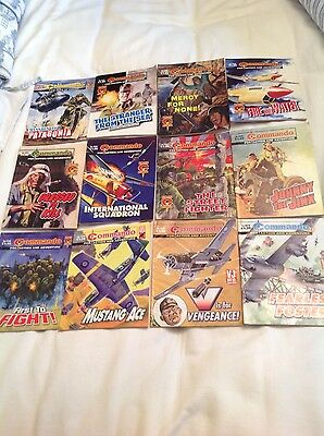 Commando 'for Action And Adventure' Comic Books (Set Of 22) Various