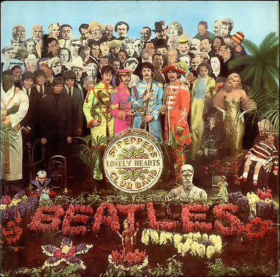 The Beatles - Sgt. Pepper's Lonely Hearts Club Band - LP 2017- PCS 7027 Sealed