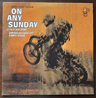 RARE SOUNDTRACK  Dominic Frontiere  On Any Sunday 	Bell Records 1206	USA	1971