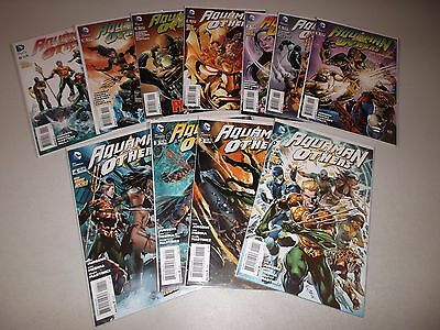 Aquaman and the Others #1-11  VF/NM  (Full 2014 Series)  DC The New 52