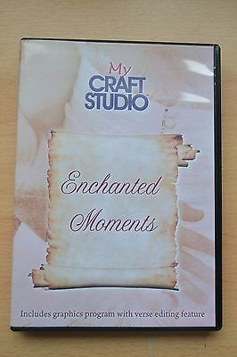 my craft studio my craft studio mcs enchanted moments crafting cd rom 2527
