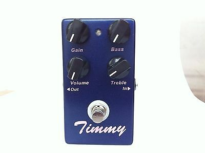 Clone Timmy Overdrive guitar effects pedal and True Bypass
