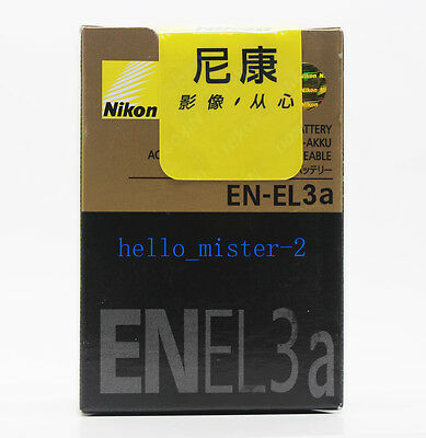 GENUINE NIKON EN-EL3A BATTERY PACK FOR NIKON D50 D70 D70s D100 CAMERA
