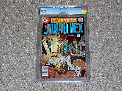 1977 DC Comics Jonah Hex # 1 CGC 9.2 NM-