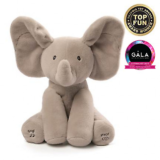 Gund Sing and Play Flappy Elephant Toy