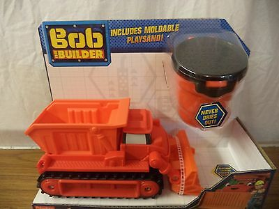 Bob The Builder Mash and Mold Playsand Muck Sand Hauler Vehicle post w/wide