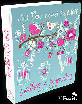 Wedding Planner/ All you need is love/Diary/Organiser/Engagement Present