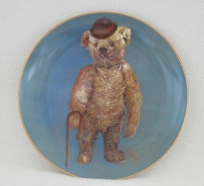 """Briarcrest-Chauncey James-""""This Ole Bear""""-8.5"""" China Plate-Ex. Condition"""