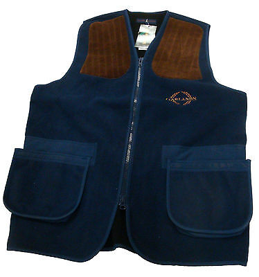 Garlands Fleece Shooting Vest (Navy)