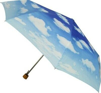 NEW Clouds in The Sky Print Folding Umbrella