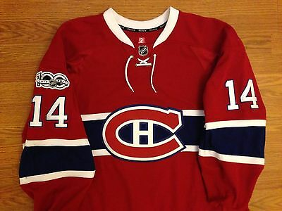 Tomas Plekanec Game Worn Used Montreal Canadiens Jersey 100 Patch Czech Republic